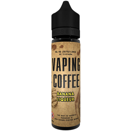 Vaping Coffee Banana Liqueur