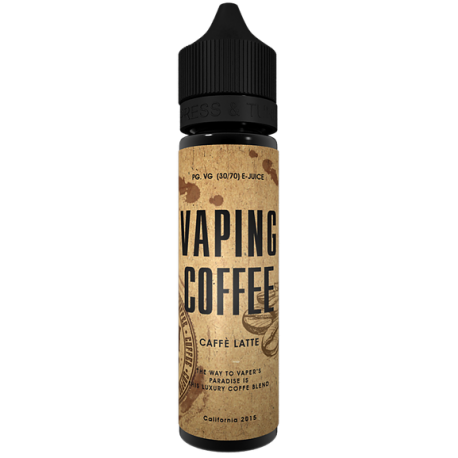 Vaping Coffee Latte