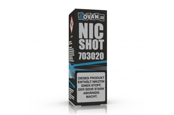 VapeX Nikotin Shot 70/30 10ml 20mg