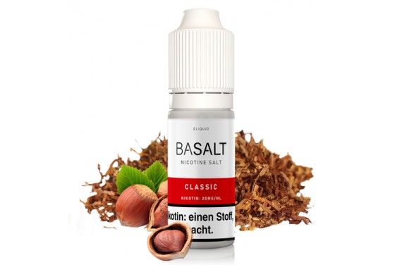 Basalt - Classic Nic Salt 10 ml Liquid