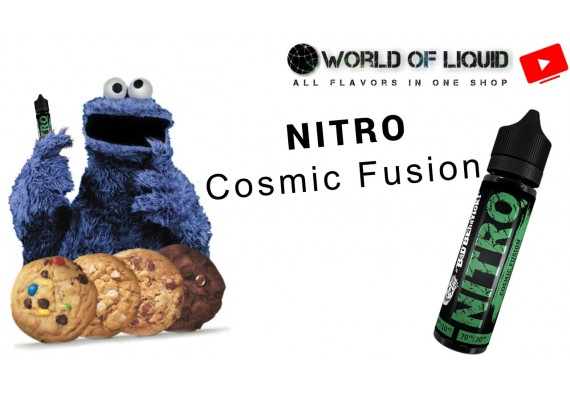WorldOfLiquid TV - TasteReviews - NITRO Cosmic Fusion by VoVan GmbH